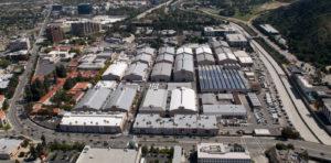 Warner Bros. Studio Facilities - Aerial Shot