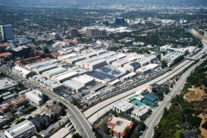 Warner Bros. Studio Facilities - Aerial view