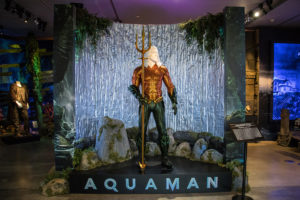 Aquaman The Exhibit Now Open in the Studio's Archive