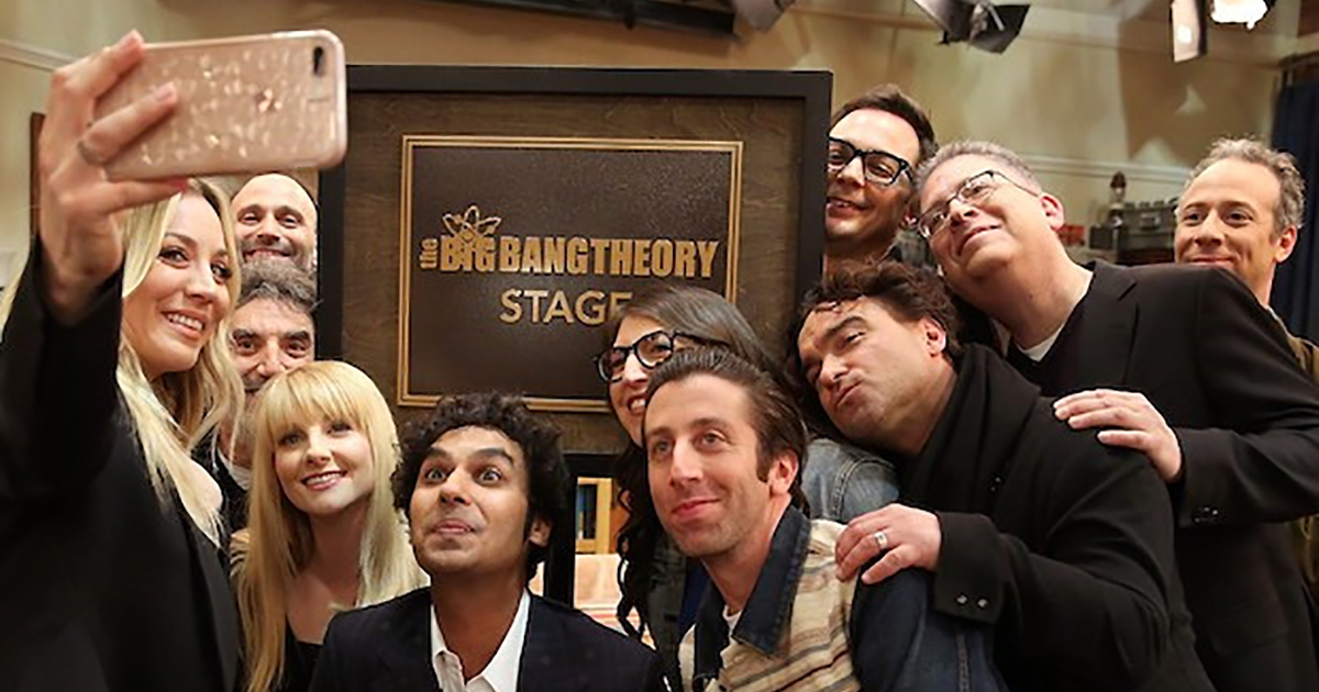 "We said goodbye to ""The Big Bang Theory"""